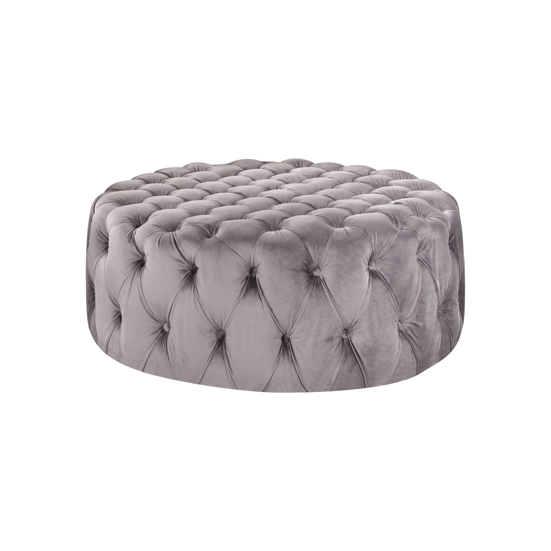 Ideas About Tufted Round Ottoman Seat Onthecornerstone