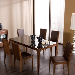 Tudor City 7 Piece Dining Set by Brayden Studio