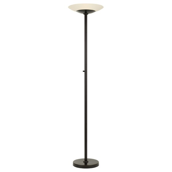 Wicklund Metal 70 LED Torchiere Floor Lamp by Red Barrel Studio®