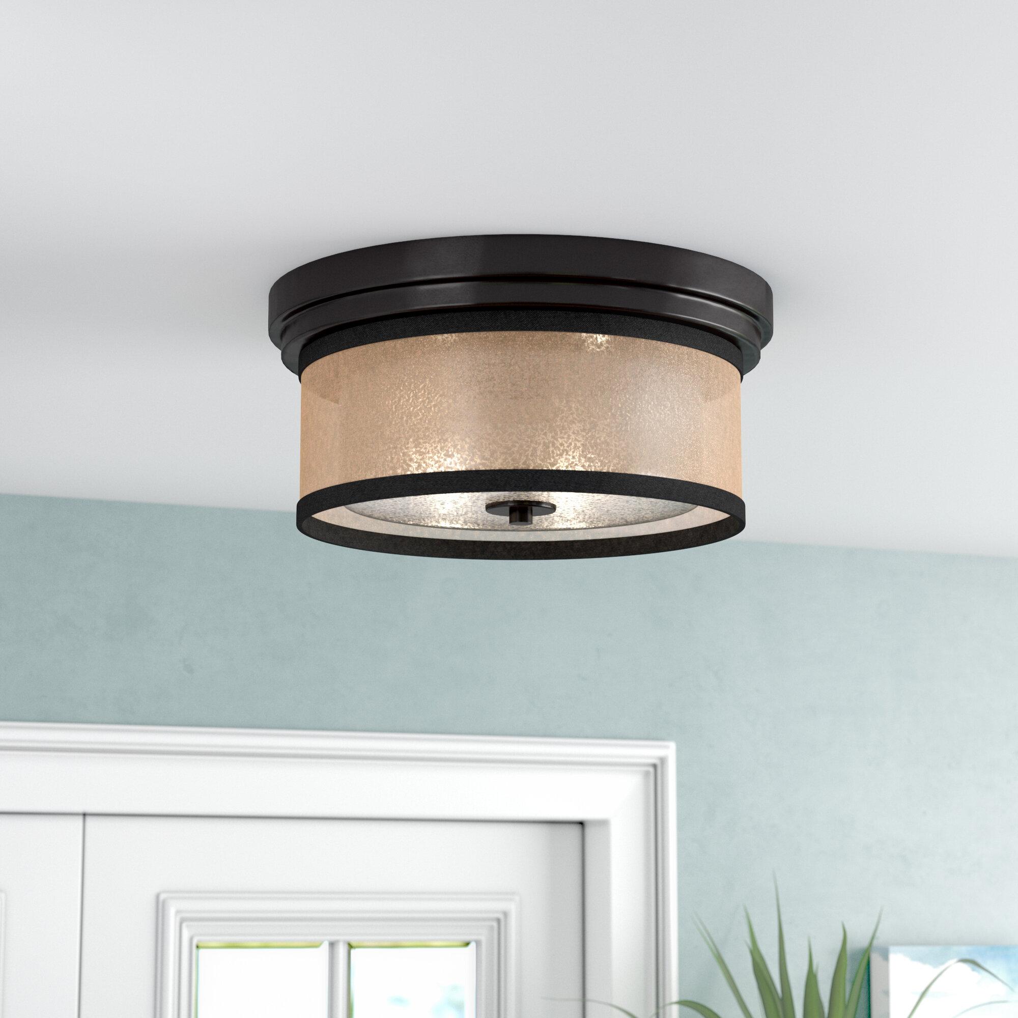 Beachcrest Home Shalisa 2-Light Flush Mount & Reviews | Wayfair