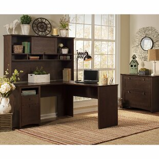 Fralick 3 Piece L-Shape Desk Office Suite by Darby Home Co