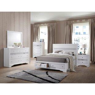 Rosdorf Park Cecelia Storage Platform Configurable Bedroom Set