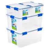 Ziploc Weathershield 4 Piece Plastic Box Set by Ziploc®