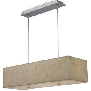 Ebern Designs Freed 4-Light Square/Rectangle Pendant
