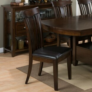 Emilia Solid Wood Dining Chair (Set of 2) Alcott Hill