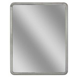 Read Reviews Radius Corner Bathroom/Vanity Wall Mirror BySymple Stuff