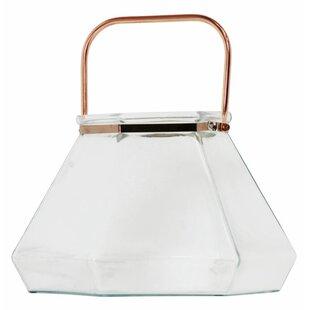 Brayden Studio Clear Glass Lantern