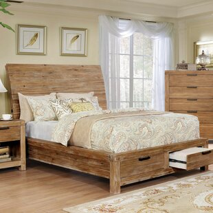 Shop For Aquavia Storage Sleigh Bed by Loon Peak Reviews (2019) & Buyer's Guide