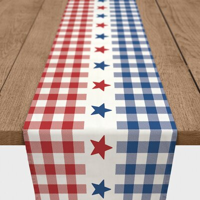August Grove Shedeck Buffalo Check Table Runner