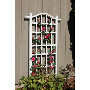 Melrose Vinyl Lattice Panel Trellis