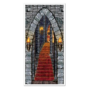 Halloween Castle Entrance Door Cover