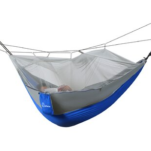 Strong 2-Person Portable Parachute Double Tree Hammock
