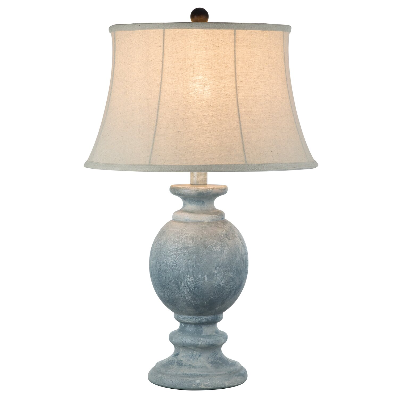 "Light blue Ibai table lamp 29"""