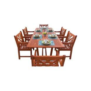 Breakwater Bay Blythe 7 Piece Dining Set