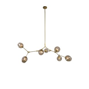 Ivy Bronx Arcade 7-Light Sputnik Chandelier