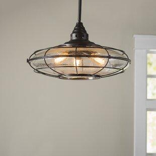 Birch Lane™ Gaskell 3-Light Geometric Chandelier