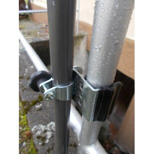 Stainless Steel Mounted Umbrella Stand By Freeport Park