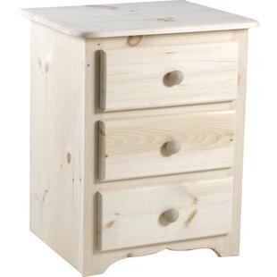 Chelsea Home Furniture Langston 3 Drawer Nightstand
