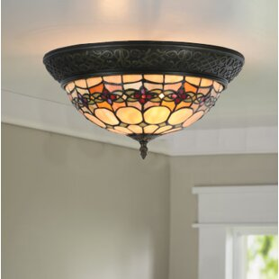 Paule Rosette 2-Light Flus..