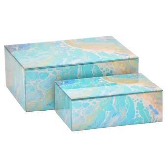 Glass Decorative Box