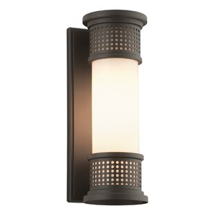 Top Reviews Lisson 1-Light Outdoor Sconce By Brayden Studio