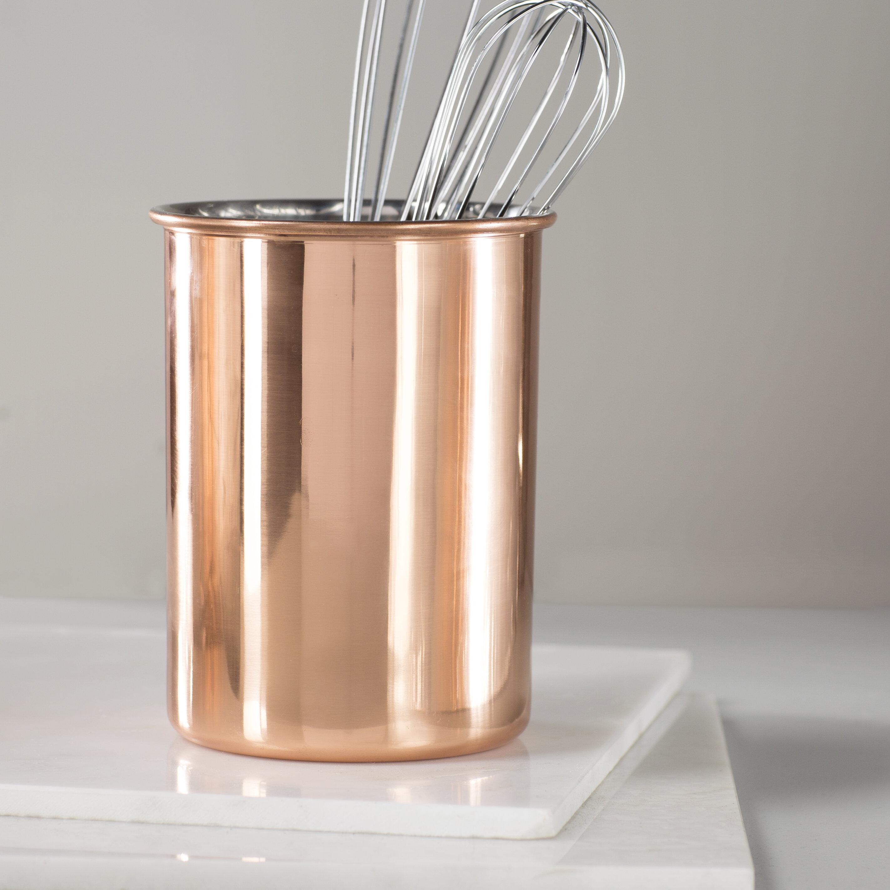 Ustensile Holder Silver Wire cuisine table de salle à manger Métal Rustique couverts Couverts