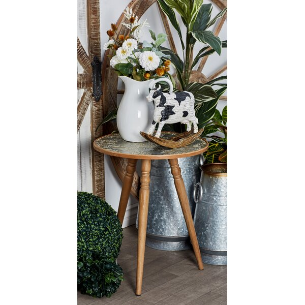 Bungalow Rose Hanagita Tripod End Table Wayfair