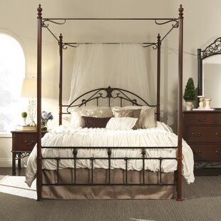 Three Posts Wedgewood Canopy Bed