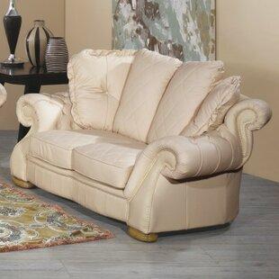 Alexandra Leather 2 Seater Sofa By Rosalind Wheeler