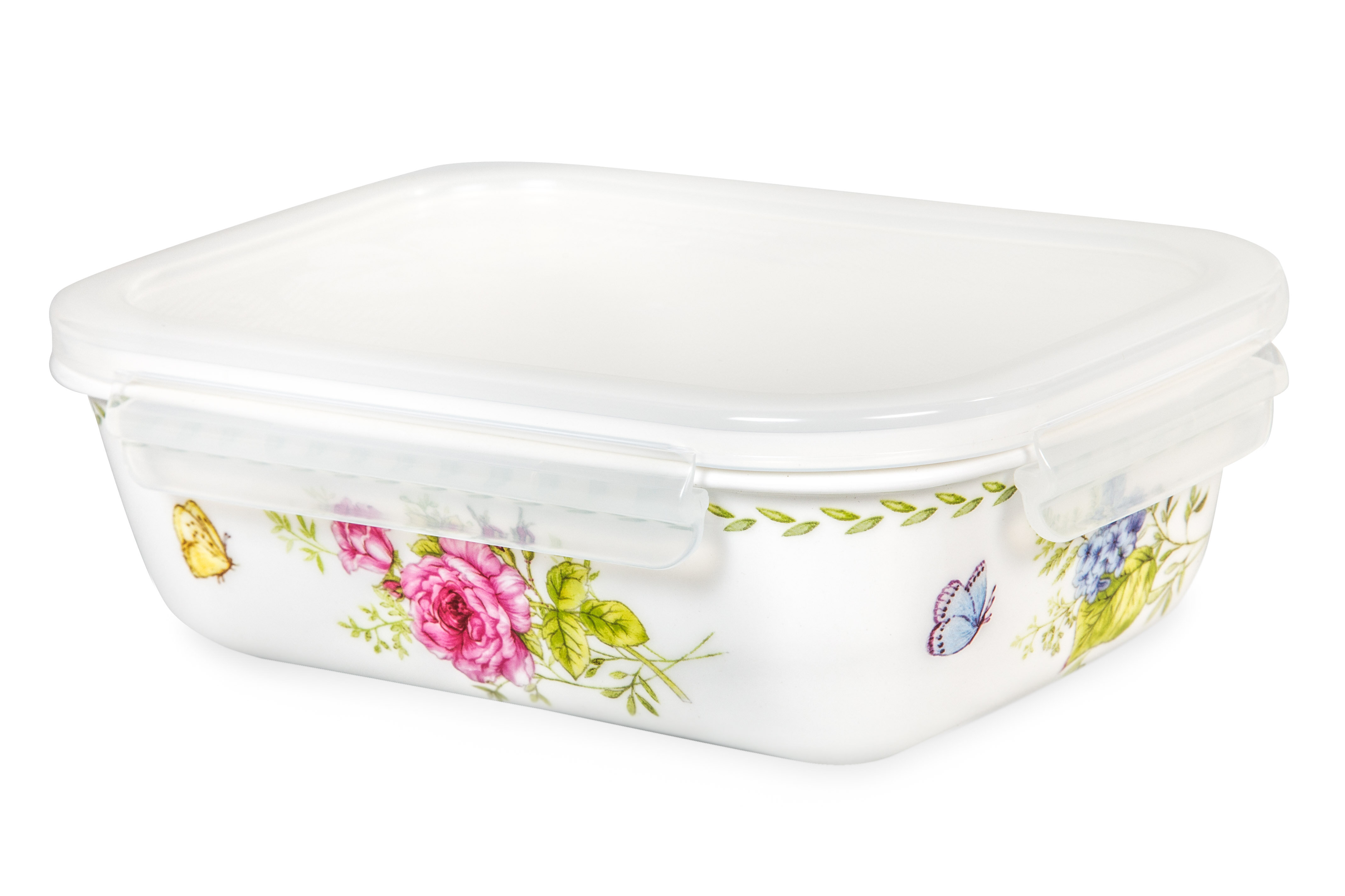 Lock U0026 Lock Ashley Rectangular 31 Oz. Food Storage Container | Wayfair