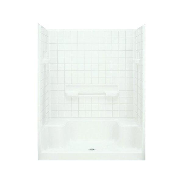 sterling by kohler advantage tile seated shower kit u0026 reviews wayfair