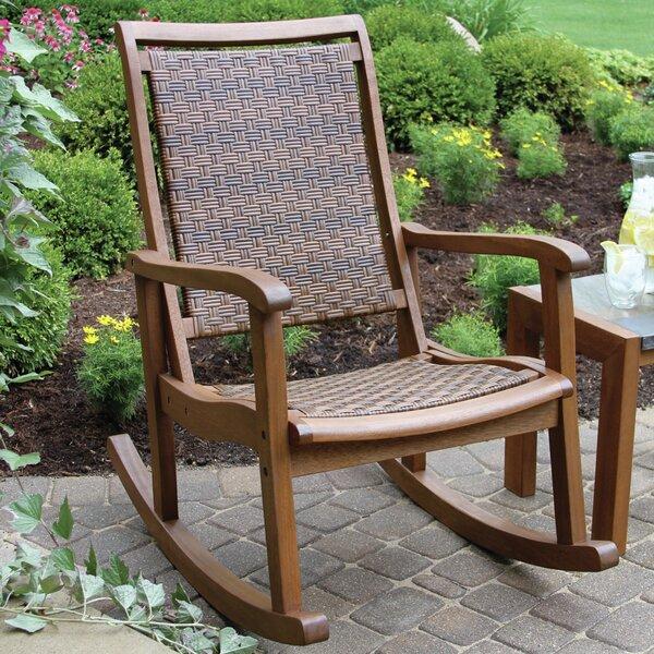 Bay Isle Home Howe Rocking Chair Reviews Wayfair