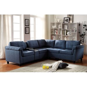 Cleavon Reversible Sectional by ACME Furniture