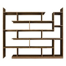 Stagger Major 79 Accent Shelves Bookcase by Brave Space Design