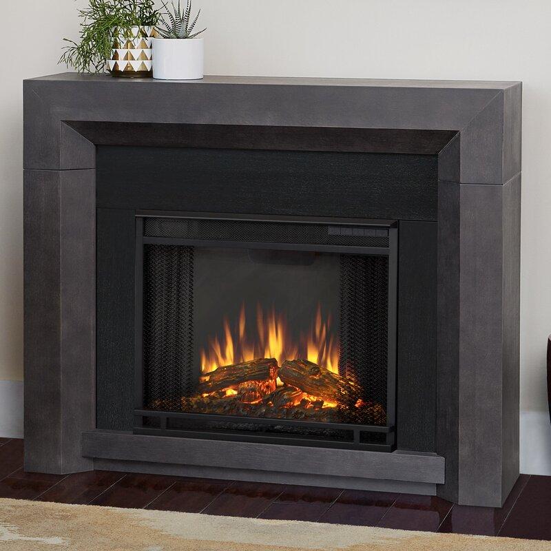 Real Flame Hughes Electric Fireplace & Reviews | Wayfair