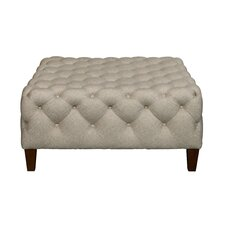 Brysen Square Button Tufted Cocktail Ottoman by Darby Home Co