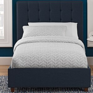 littrell upholstered platform bed - Upholstered Bed Frame