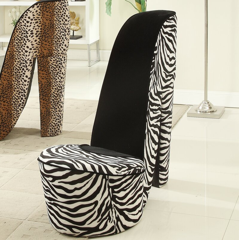 Default_name   Williams Import Co. Zebra High Heel Lounge Chair U0026 Reviews  Wayfair