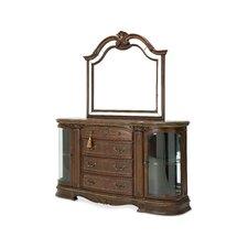 Bella Veneto 6 Drawer Dresser with Mirror by Michael Amini (AICO)