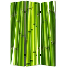 72 x 48 Bamboo 3 Panel Room Divider by Screen Gems