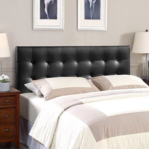 corneau upholstered panel headboard - Bed Frames With Headboard