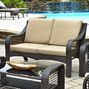 lanai breeze loveseat with cushions