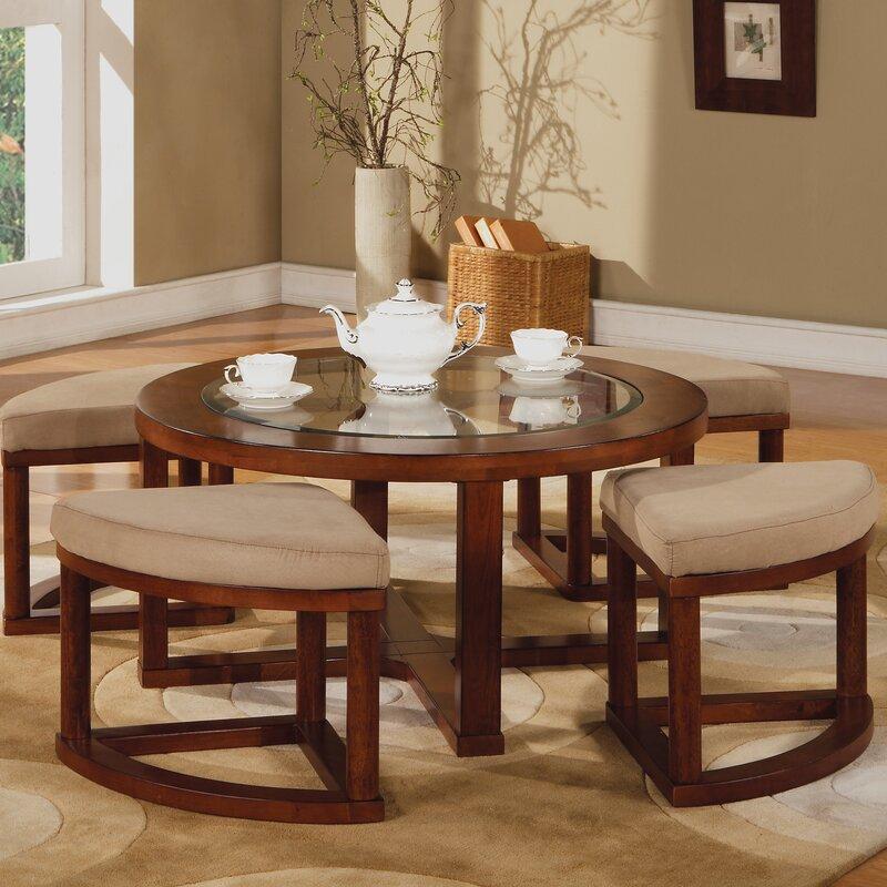acme furniture patia coffee table set & reviews | wayfair