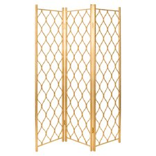 Bichir 74.9 x 55.5 Capree Screen 3 Panel Room Divider by House of Hampton