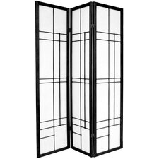 70.25 x 42 Eudes Shoji 3 Panel Room Divider by Oriental Furniture