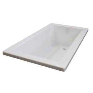 Guadalupe 66 x 32 Drop In Soaking Bathtub Spa Escapes