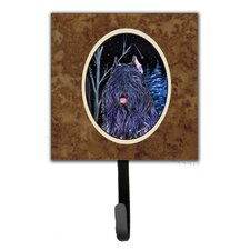 Starry Night Bouvier Des Flandres Leash Holder and Wall Hook by Caroline's Treasures