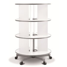 One Turn Binder and File Carousel Shelving 48 H Shelving Unit by Moll