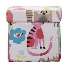 Purrty Cat Box Ottoman by Crayola LLC