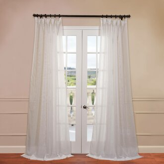 Curtains Ideas curtains double width : Curtain Style Guide | Wayfair